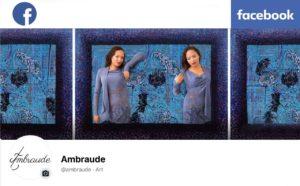 profil Facebook Ambraude Art-Création, de l'Art Nouveau Post Exotique, Art Floral Végétal Tropical, défense de la nature