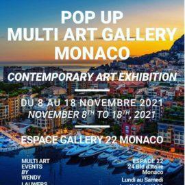 Exposition Ambraude à Monaco
